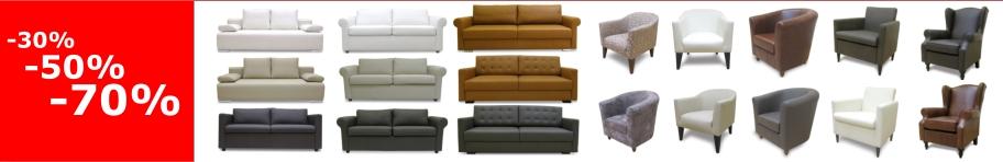 sofy skórzane rozkładane oraz fotele