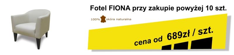 Fiona fotel skórzany